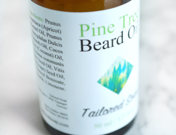 Pine Tree Beard Oil by Tailored Soap
