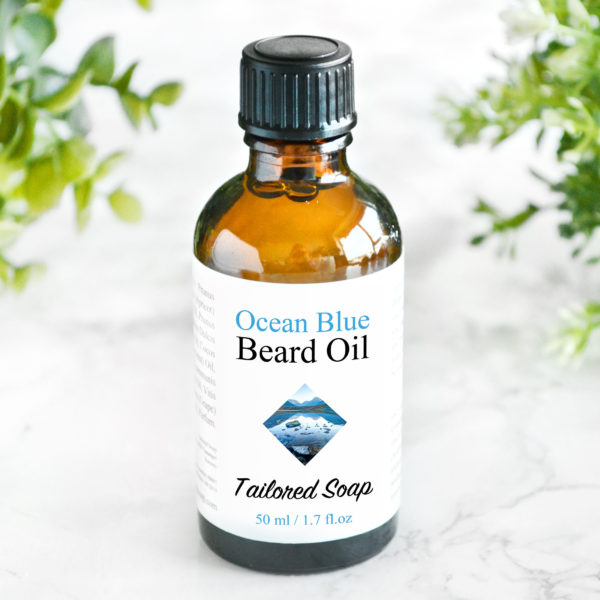 Ocean Blue Beard Oil by Tailored Soap