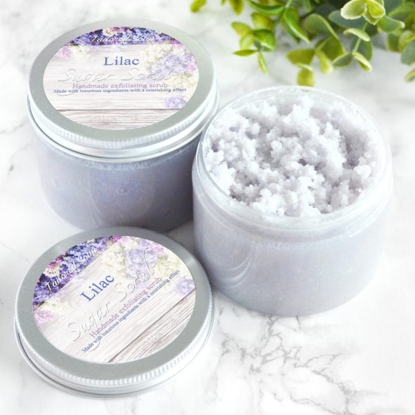 Lilac Sugar Scrub by Tailored Soap