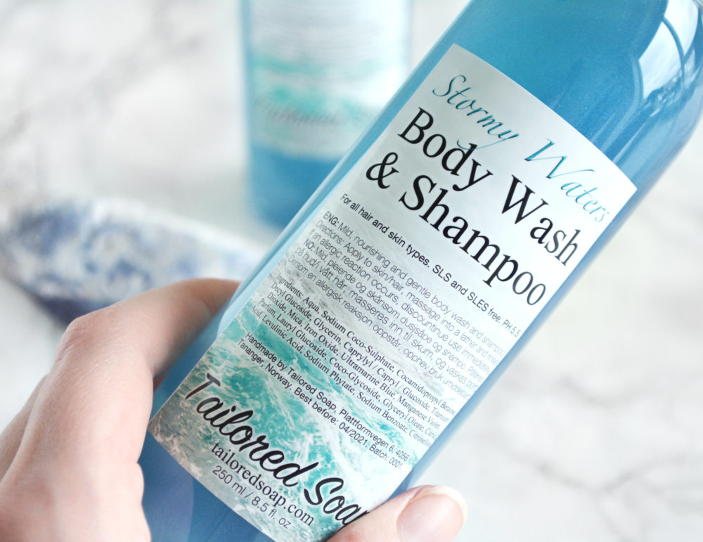 Stormy Waters by Tailored Soap by Tailored Soap