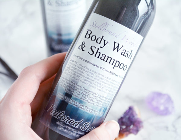 Spellbound Woods Body Wash & Shampoo by Tailored Soap