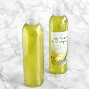 Tobacco & Bay Leaf Body Wash & Shampoo by Tailored Soap