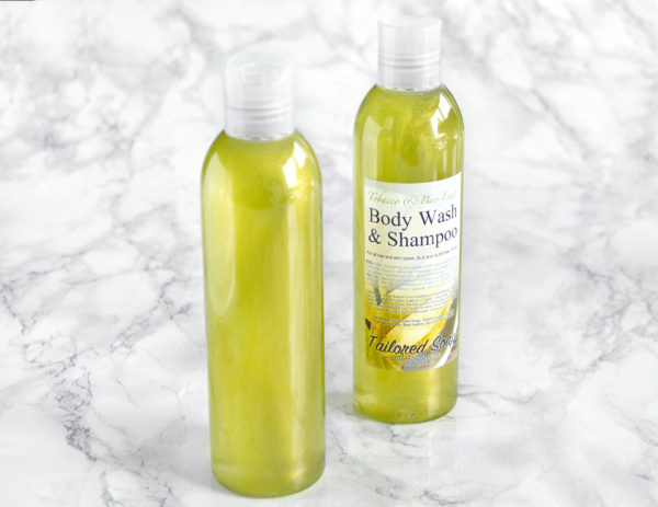 Tobacco & Bay Leaf Body Wash & Shampoo by Tailored Soap