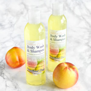 Southern Peaches Body Wash & Shampoo by Tailored Soap