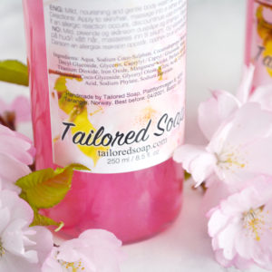 Cherry Blossom Body Wash & Shampoo by Tailored Soap