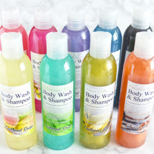 Body Wash and Shampoo by Tailored Soap