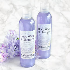 Lilac Body Wash & Shampoo by Tailored Soap