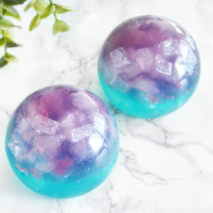 Fluorite Crystal Ball Soap by Tailored Soap