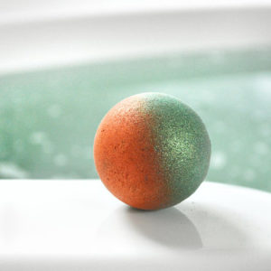 Supernova Galaxy Bath Bomb by Tailored Soap