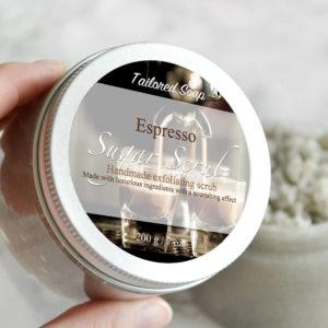 Espresso Sugar Scrub by Tailored Soap