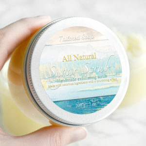 All Natural Sugar Scrub by Tailored Soap