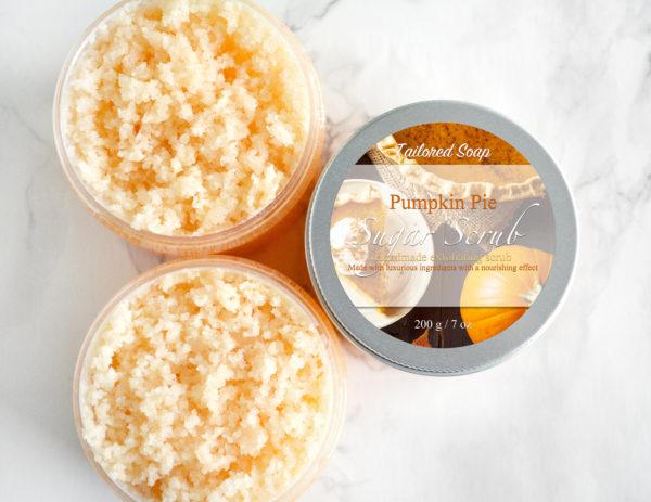 Pumpkin Pie Sugar Scrub by Tailored Soap