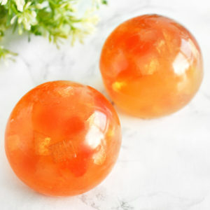 Amber Crystal Ball Soap by Tailored Soap