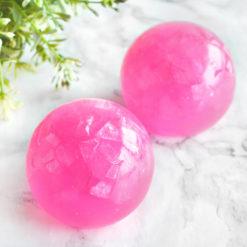 Pink Aura Quartz Soap by Tailored Soap