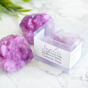 Sugilite Soap by Tailored Soap