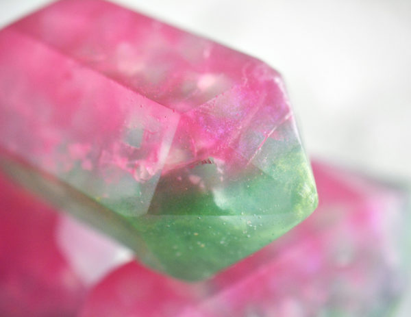 Watermelon Tourmaline Soap by Tailored Soap