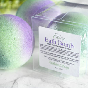 Fairy Bath Bomb by Tailored Soap
