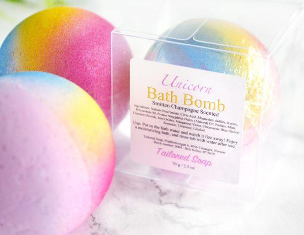 Unicorn Bath Bomb by Tailored Soap
