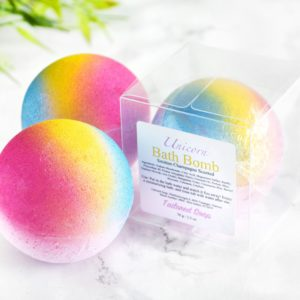 Unicorn Bath Bomb by Tailored Soap