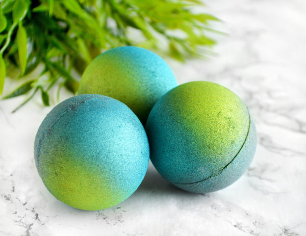Northern Lights Bath Bomb by Tailored Soap