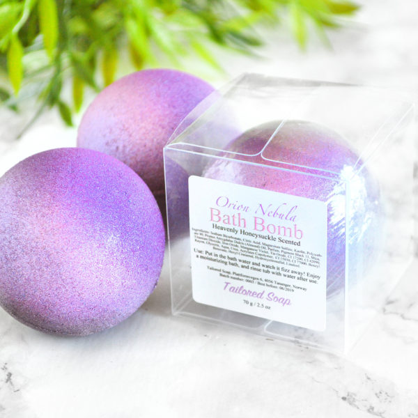 Orion Nebula Bath Bomb by Tailored Soap