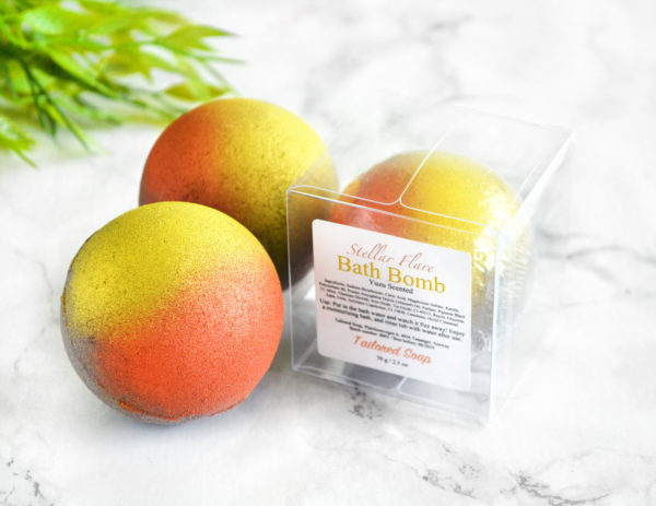 Stellar Flare Bath Bomb by Tailored Soap