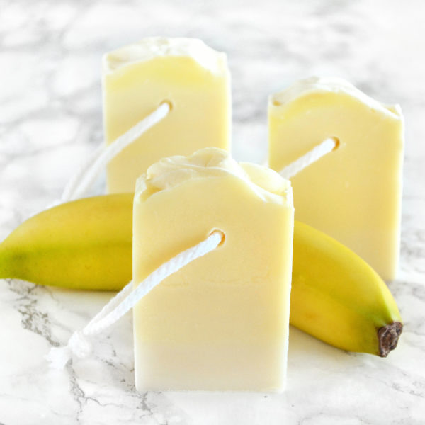 Banana Shake Soap by Tailored Soap
