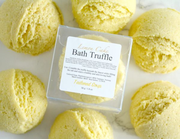 Lemon Cake Bath Truffle by Tailored Soap