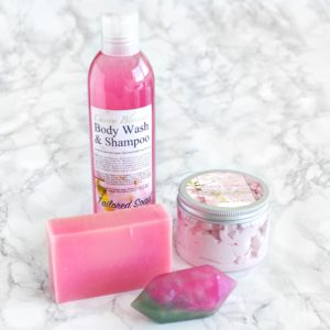 Cherry Blossom Gift Set by Tailored Soap