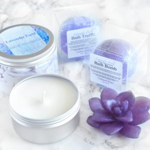 Lavender Field Gift Set by Tailored Soap