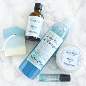 Stormy Waters Gift Set by Tailored Soap