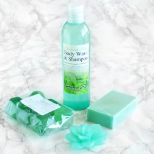 Moroccan Mint Gift Set by Tailored Soap