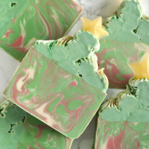 Christmas Tree Soap by Tailored Soap