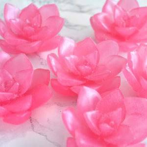 Pink Smitten Scented Lotus Soap by Tailored Soap
