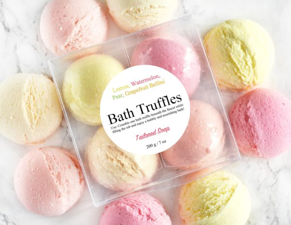 Fruity Bath Truffle Set by Tailored Soap