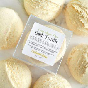 Crisp Anjou Pear Bath Truffle by Tailored Soap