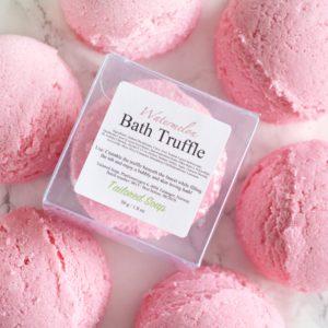 Watermelon Bath Truffle by Tailored Soap