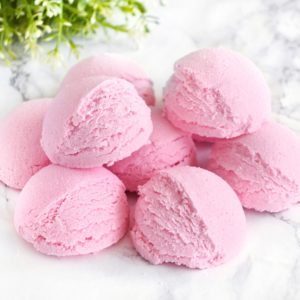 Strawberry Bath Truffle by Tailored Soap