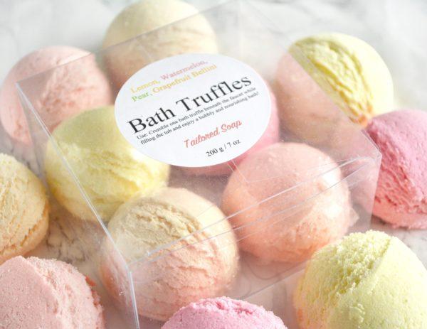 Fruity Bath Truffle Set by Tailored Soap