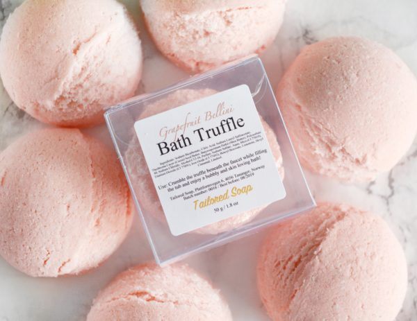Grapefruit Bellini Bath Truffle by Tailored Soap