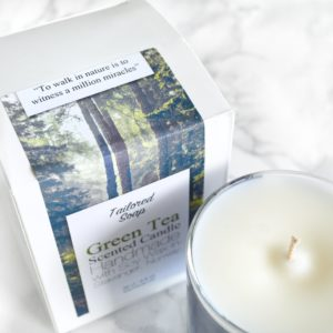 To walk in nature is to witness a million miracles hiking outdoors quote candle with box