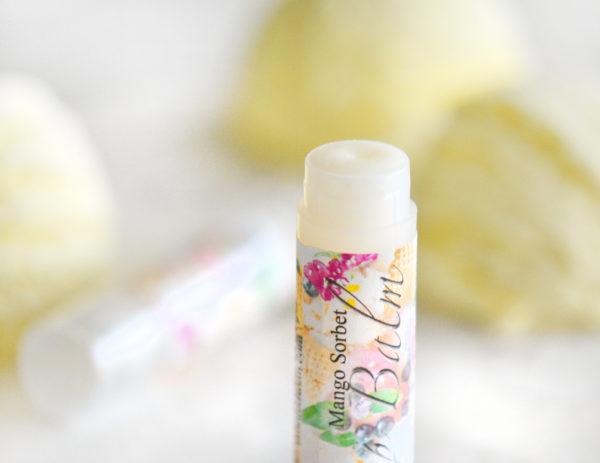 Mango Sorbet Lip Balm by Tailored Soap