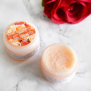 Passionfruit Rose Lip Scrub by Tailored Soap