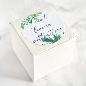 """""""Will You Be My Maid of Honor"""" Bath Bomb Gift Box by Tailored Soap"""