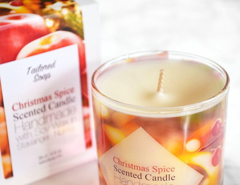 Christmas Soy Candles Christmas Spice