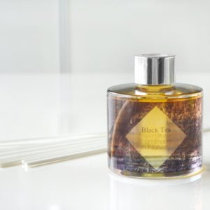 Black Tea Reed Diffuser by Tailored Soap