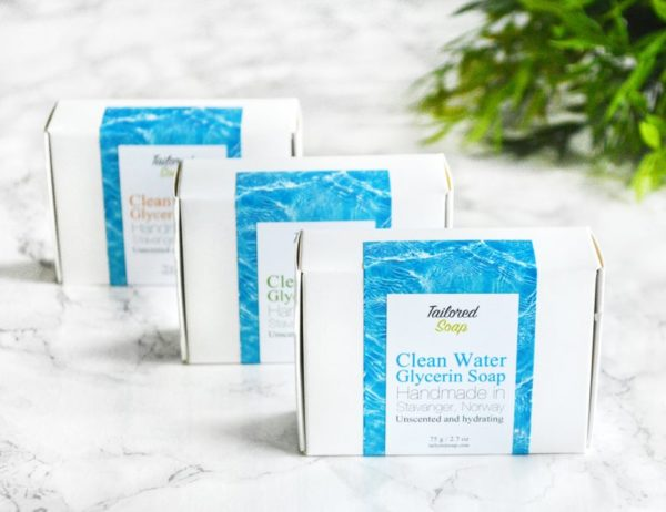 Clean Water Soap from Tailored Soap