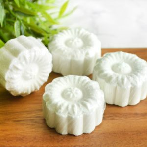 Geranium Shower Steamers from Tailored Soap