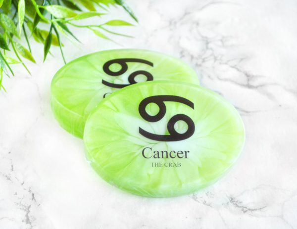 Green Cancer Zodiac Soap by Tailored Soap