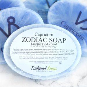 Blue Capricorn Zodiac Soap by Tailored Soap